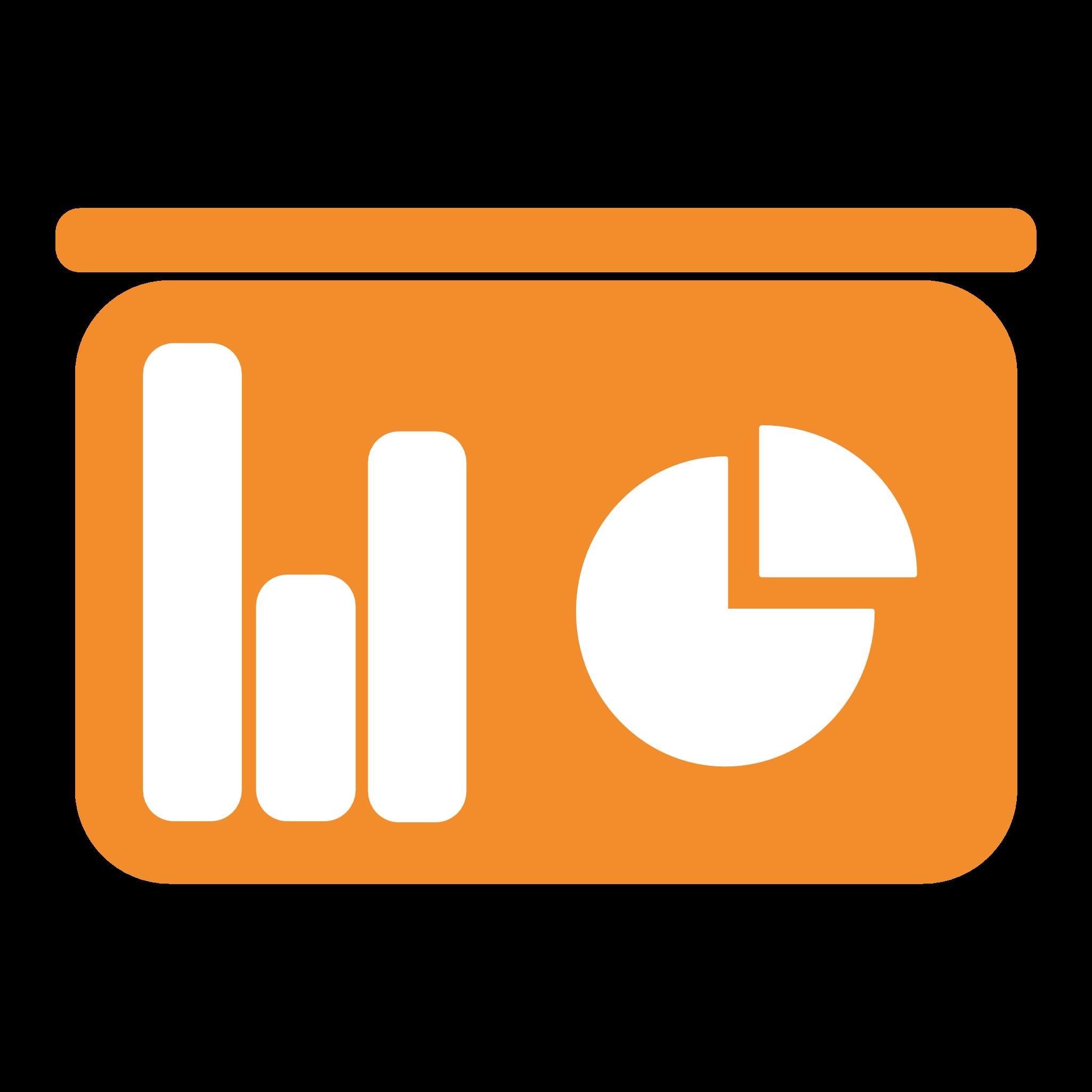 orange diagram icon
